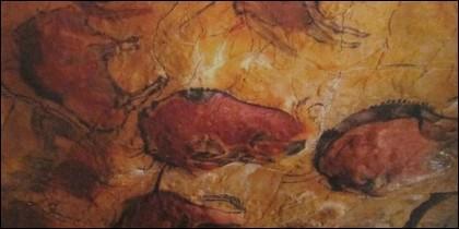 Los artistas rupestres empleaban pigmentos ocres.
