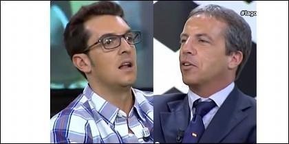 'Látigo' Serrano y Cristóbal Soria.