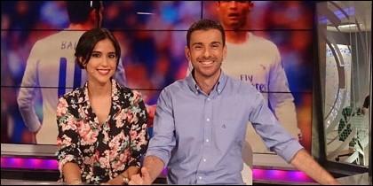Sara Patricio y Rubén Martín.