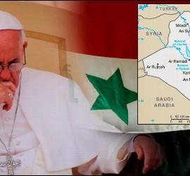 Francisco, preocupado por la violencia contra los cristianos
