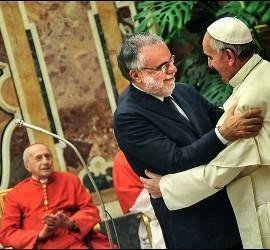 Papa y Riccardi