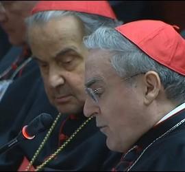 La intervención del cardenal Sistach en el Sínodo