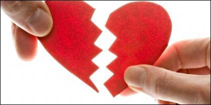 Pareja, matrimonio, amor, divorcio y separación.