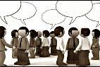 Rumor, noticia, gente y comunicación.