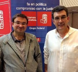 Carlos García de Andoin y Fernando Redondo