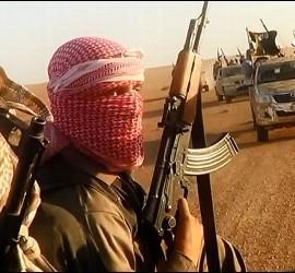 Yihadistas del Estado Islámico de Irak y Siria.