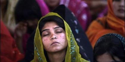 Mujer Dalit en Tamilnadu