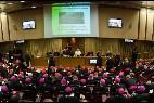 El Papa, en una sesión sinodal