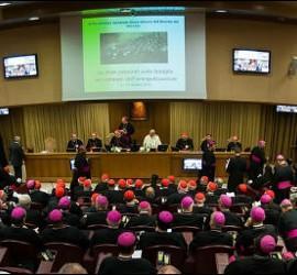 Francisco preside las sesiones del Sínodo