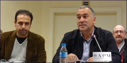 Alejandro Caballero y Xavier Fortes.