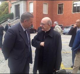 Osoro, con José Luis Segovia