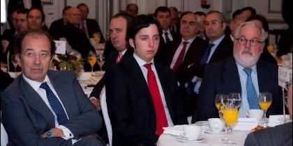 El impostor Nicolás con Arias Cañete.