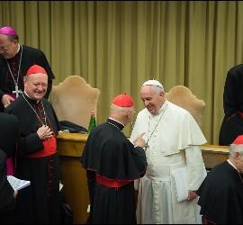 El Papa, en el Sínodo