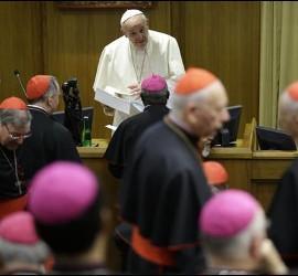 El Papa habló al Sínodo