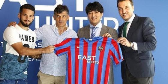 El Levante presenta un nuevo patrocinador