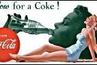Un clásico poster de Coca-Cola.