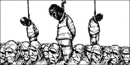 Condenados a la pena de muerte.