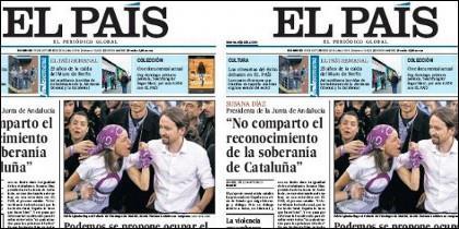 El País editorializa muy duro contra Pablo Iglesias.