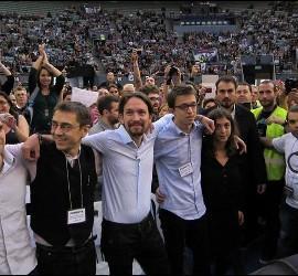 Asamblea Podemos en Vistalegre
