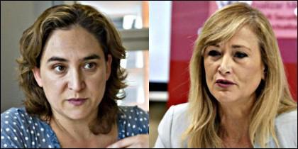 Ada Colau y Cristina Cifuentes.