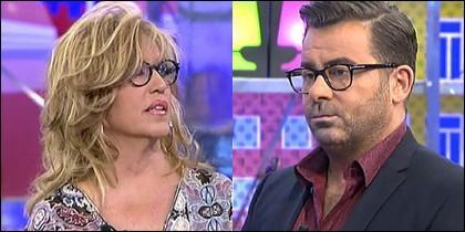 Lydia Lozano y Jorge Javier Vázquez.