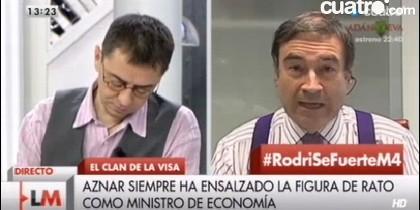 Monedero y Pedrojota.