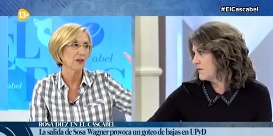 Rosa Díez y María Antonia Trujillo.
