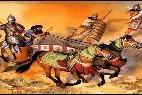 Asiria: Carro e infantería S.IX a.C
