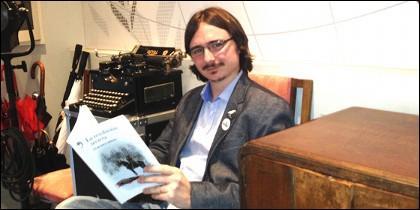 El escritor Claudio Cerdán.