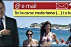 Miguel Blesa, sus correos y su amante en Interviú.