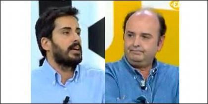 Víctor Lozano y Juanma Rodríguez.