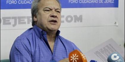 Pedro Pacheco, exalcalde de jerez.