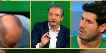 Alfredo Duro, Josep Pedrerol y Albert Luque.