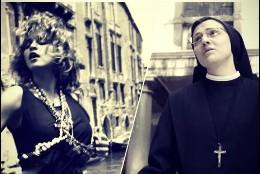 Madonna y sor Cristina