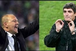 Pepe Mel y juande Ramos.