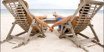 Vacaciones, playa, ocio, turismo y placer.