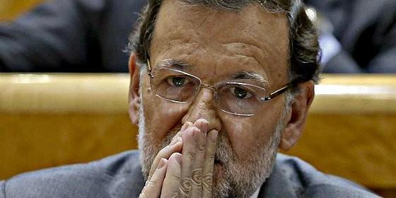 Mariano Rajoy en el Senado.