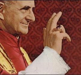 El Papa Pablo VI