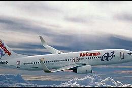 El avión destinado a cubrir la ruta será un Boeing 737-800