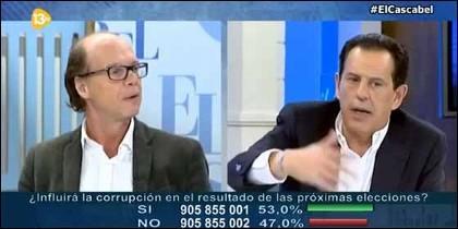 Jaime González y Rafael Merino.