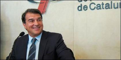 El ex presidente del FC Barcelona, Joan Laporta.