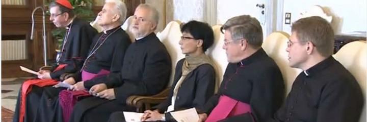 El Papa, con los veterocatólicos