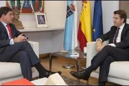 Alberto Núñez Feijoo y Juan Ramón Gómez Besteiro.