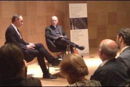 Spadaro y Torralba, en los Diálogos de Pedralbes