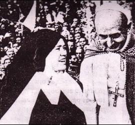 Pablo VI y Sor Lucía