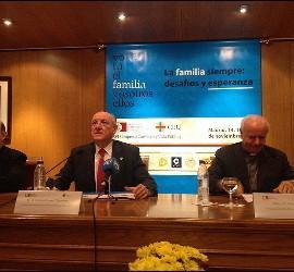 Fidel Herráez, Carlos Romero y Vicenzo Paglia