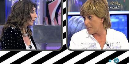 Paz Padilla y Chelo García Cortés.