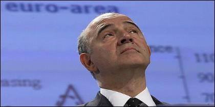 El comisario europeo de Asuntos Económicos y Financieros, Pierre Moscovici.