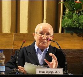 Jesús Espeja, durante su intervención