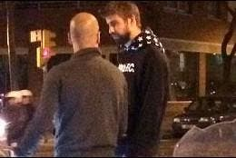 Pep Guardiola y Gerar Piqué.